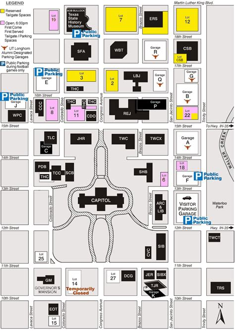 texas capitol complex map football tailgating on state property texas facilities commission