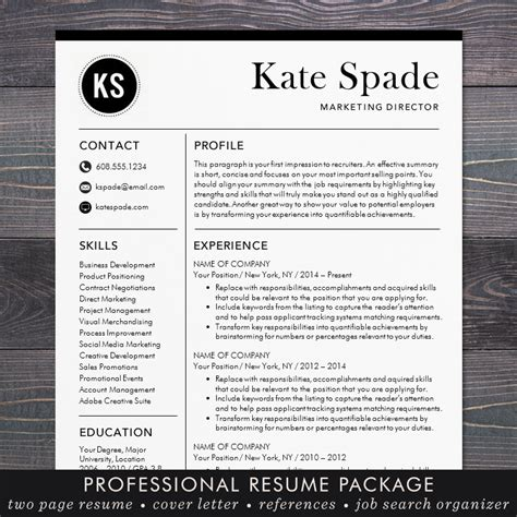 Cv Sjabloon Apple professioneel cv sjabloon cv template mac of pc moderne