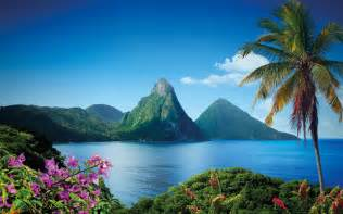 Welcome to st lucia the island of beauty and the world famous pitons