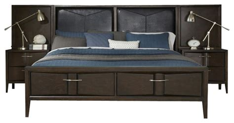 king bed with storage headboard liberty furniture arterra king storage bed wall with