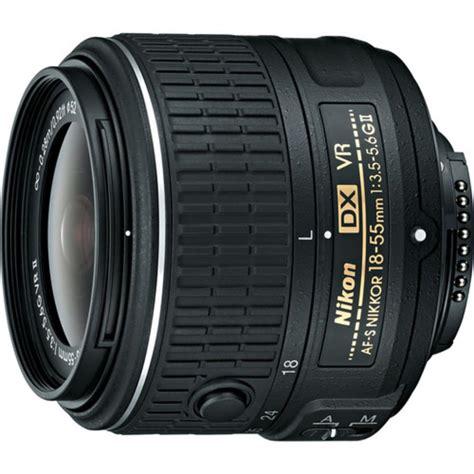Nikon D5600 Lensa 18 105vr 9 nikon af s nikkor 18 55mm f 3 5 5 6g vr ii dx lens
