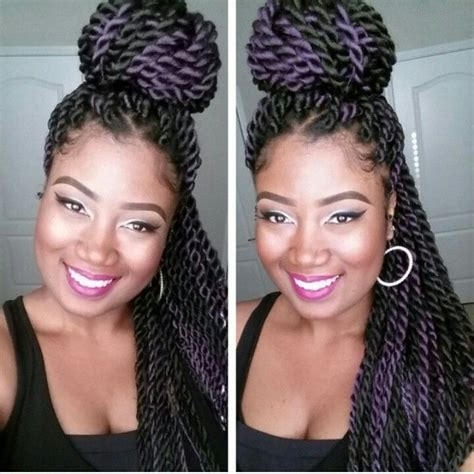 double hair strand two strand twists protective style for natural hair