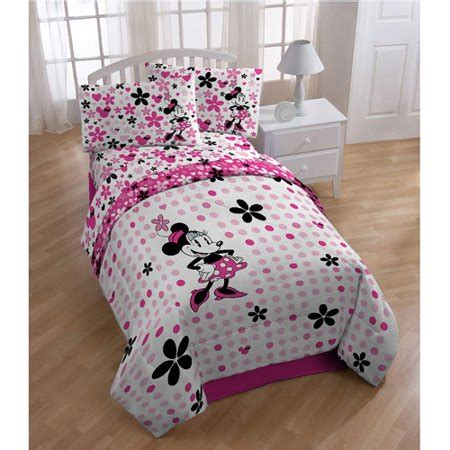 Minnie Mouse Bedding by Disney Minnie Mouse Reversible Comforter