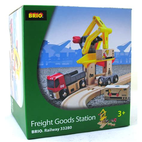 brio trains australia freight goods station from brio wwsm
