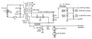 the aa8v 6146b amplifier power supply schematic diagrams and circuit descriptions