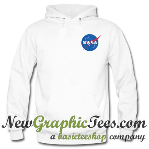 Hoodie Nasa Logo Black nasa logo hoodie