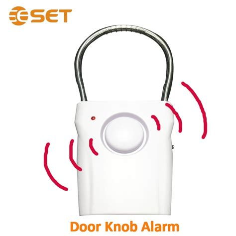 Door Knob Alarm by Vibration Sensor Door Knob Alarm Door Security Buy Door