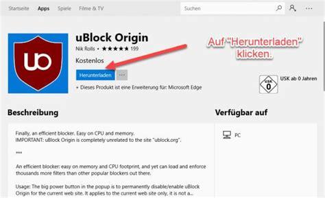 ublock for edge windows 10 microsoft edge ublock origin installieren techmixx