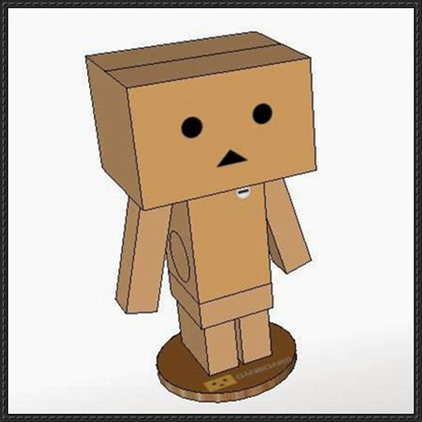 Papercraft Danbo - papercraftsquare new paper craft revoltech danbo