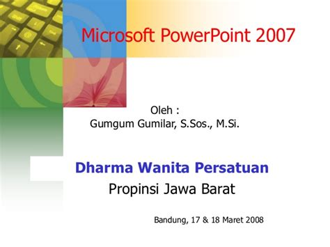 tutorial microsoft powerpoint 2007 tutorial microsoft powerpoint 2007