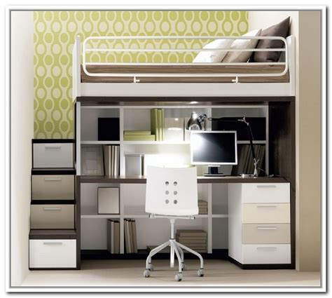 loft bed with desk for loft bed with desk and storage for adults best storage ideas