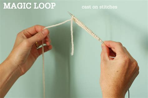 what is magic loop knitting magic loop technique how to knit in the using a
