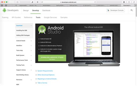 android studio apk 记录 mac下安装android studio开发环境 在路上