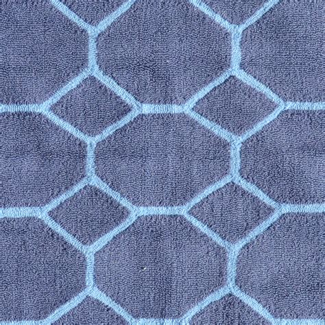 honeycomb rug honeycomb blue rug by pop accents rosenberryrooms