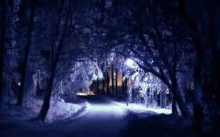 Winter silent night wallpapers hd hd desktop wallpapers