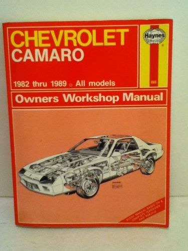 chevrolet camaro haynes repair manual for 1982 thru 1992 sell vintage haynes chevrolet camaro 1982 1989 owners workshop manual motorcycle in la verne