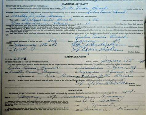 Massachusetts Marriage License Records Family Genealogy