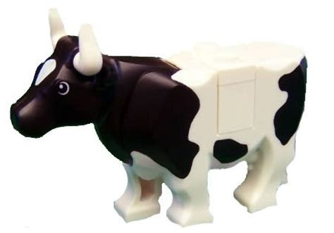 Lego Cow lego cow with black spots lego animal figure