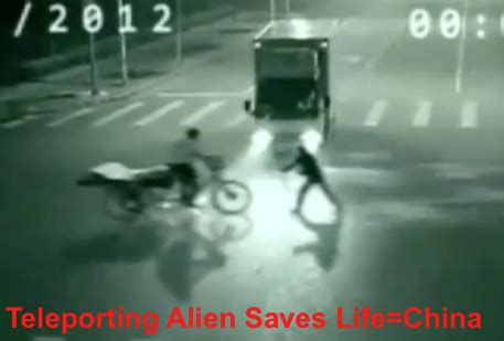 ufo sightings daily: updated: alien saves mans life in