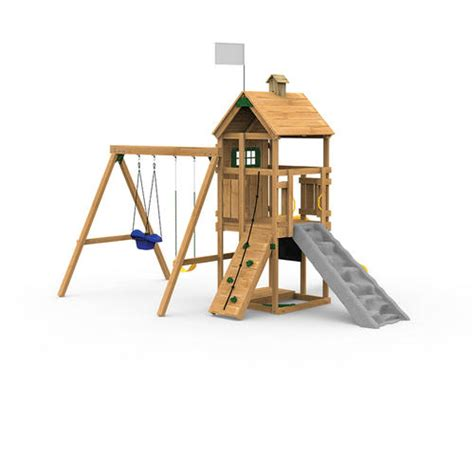 menards wooden swing sets playstar trainer silver build it yourself playset at menards 174
