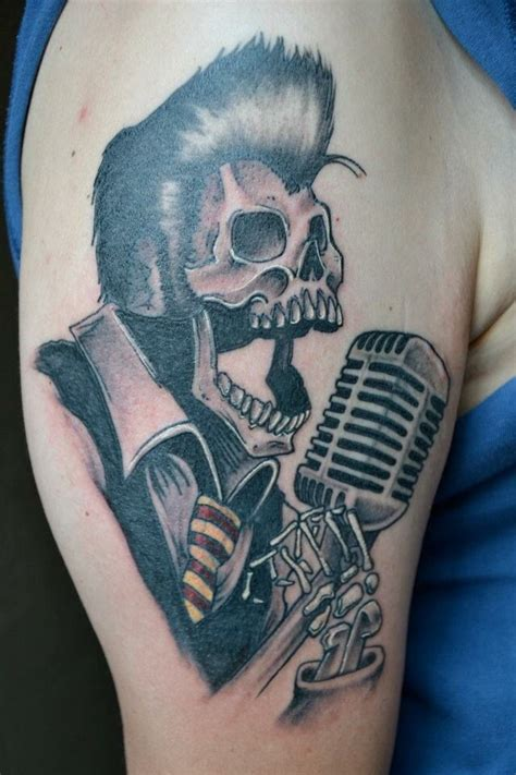 volbeat tattoo skull a volbeat image by ventoforato imperia hell yeah