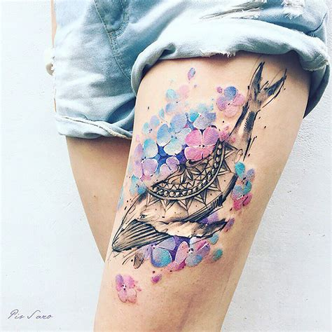 nature inspired tattoos ethereal nature tattoos inspired by changing seasons