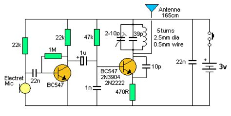 how to build a 2 transistor fm transmitter and range fm 송신기 회로