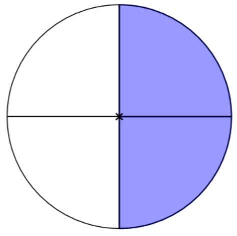 fraction clipart clipart fraction 2 4