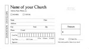 donation card template free layout request draft myofferingenvelope