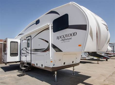 ultra light fifth wheel trailers 2015 forest river rv rockwood signature ultra lite