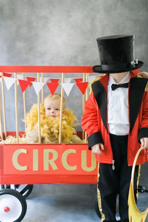 diy halloween costume circus wagon  images