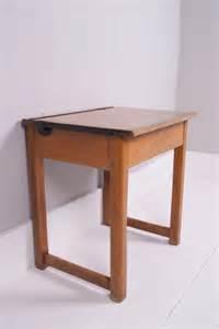 wooden school desk with lid children s vintage single school desk with lift up lid