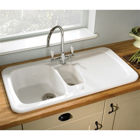 How To Clean White Porcelain Kitchen Sink How To Clean Ceramic Sinks In Kitchen How To Clean A Porcelain Sink Including The Stains And