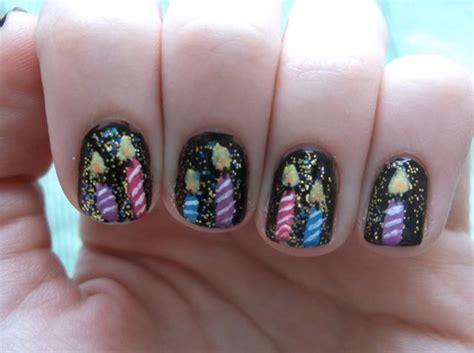 birthday themed nails happy birthday themed nail art designs ideas