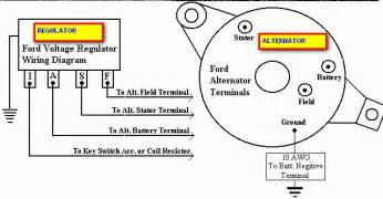 alternator wiring diagram external regulator efcaviation