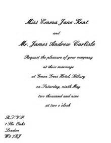 wedding reception only invitation wording casual wedding invitation wording etiquette