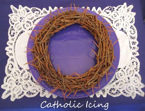 craft crown of thorns crown of thorns for lent good deeds lent ideas