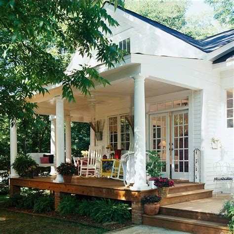 rear porch 27 screened and roofed back porch decor ideas shelterness