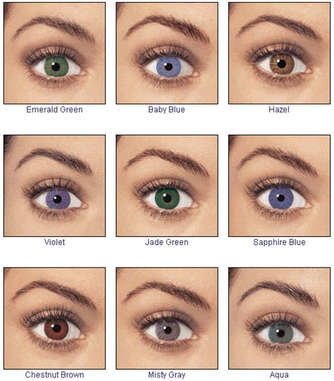 different color contacts techyfoto collections different eye shapes and eye colors