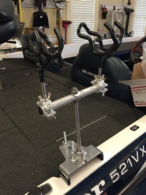 mounting rod holders on bass boat extreme fishing concepts no drill bass boat rod holders