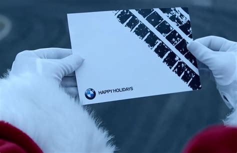Bmw Santa by Bmw S Santa Spreads Cheer With An M6 Because He S