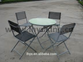 Patio Bistro Table And Chairs Iron Patio Folding Chair And Table Bistro Sets Metal Sling Chair And Glass Table Set For Garden