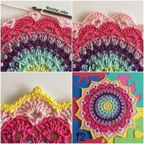 lovely mandalas beautiful patterns lovely pattern by crochet millan crochet mandalas patterns and crochet