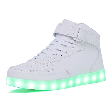 light up high top sneakers cior kids boy and s high top led sneakers light up