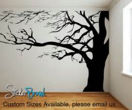 Tree Wall Art Decals Vinyl Sticker Vinyl Wall Decal Sticker Large Spooky Tree Ac122