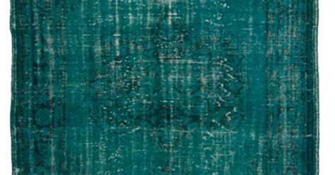 rug psychology overdyed vintage rug by loom all shades of blue purple