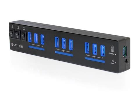 satechis  port usb hub    devices connected