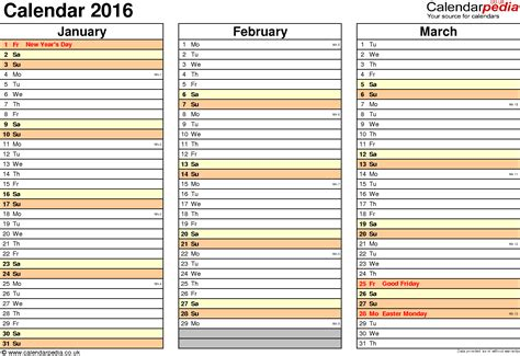 multi month calendar template multi month 2016 calendar calendar template 2018