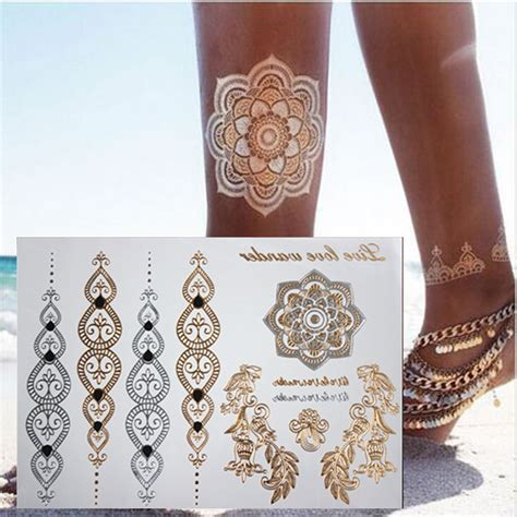tattoo body chain temporary tattoo body art chain gold tattoo tatoo flash