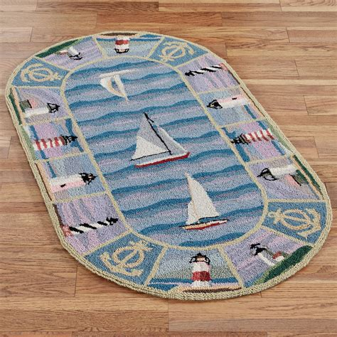 Lighthouse Bathroom Rugs New Colonial Lighthouse Area Rugs